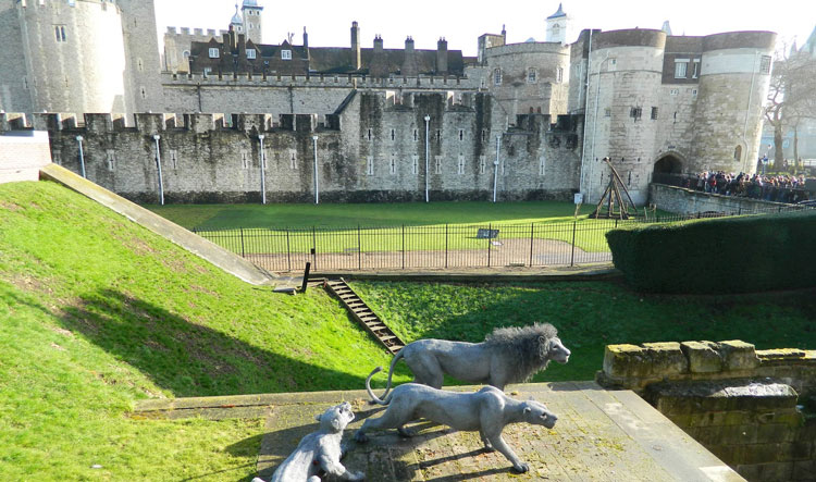 The Tower of London from outside