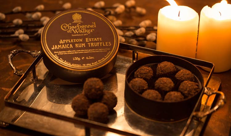 Charbonnel & Walker Truffles - Private London Chocolate Tour