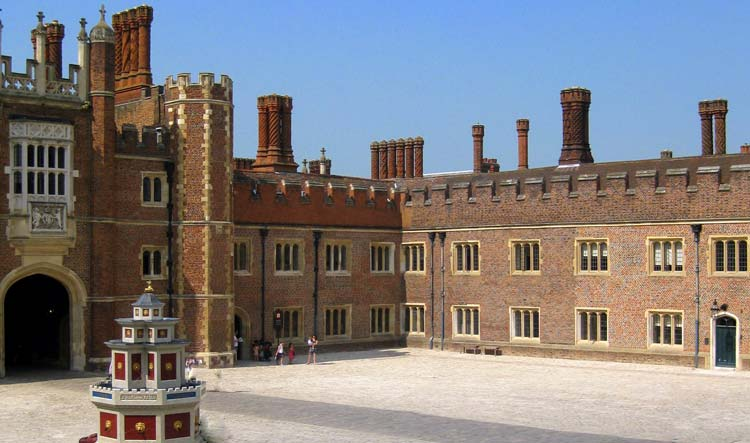 Hampton Court Palace - Base Court