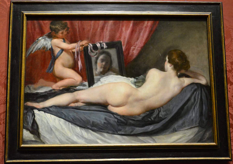 The Toilet of Venus by Diego Velázquez - National Gallery in London