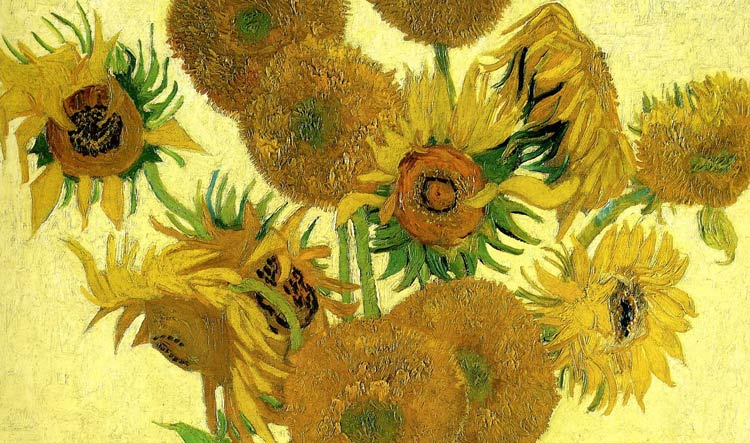 Sunflowers by Vincent van Gogh - National Gallery in London