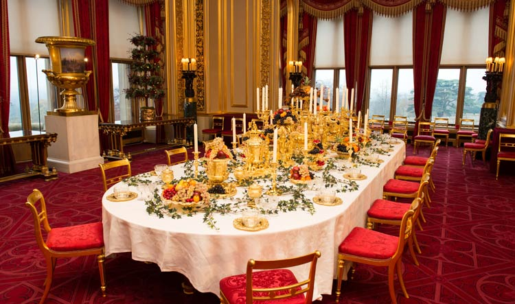 State Dining Room - Windsor Castle