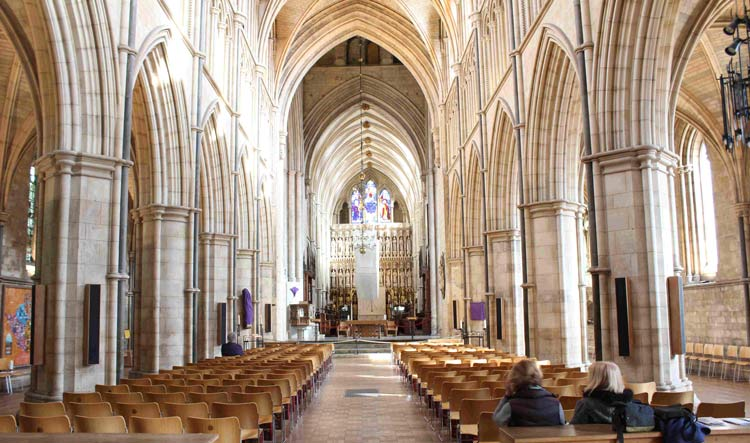 Southwark Cathedral - Southbank in London