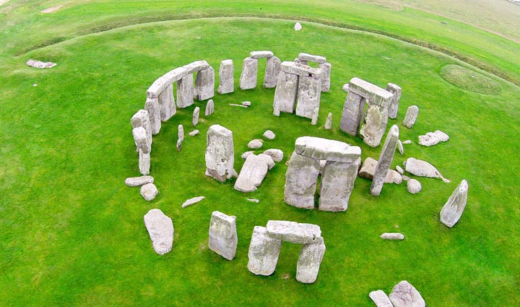 Stonehenge from the sky