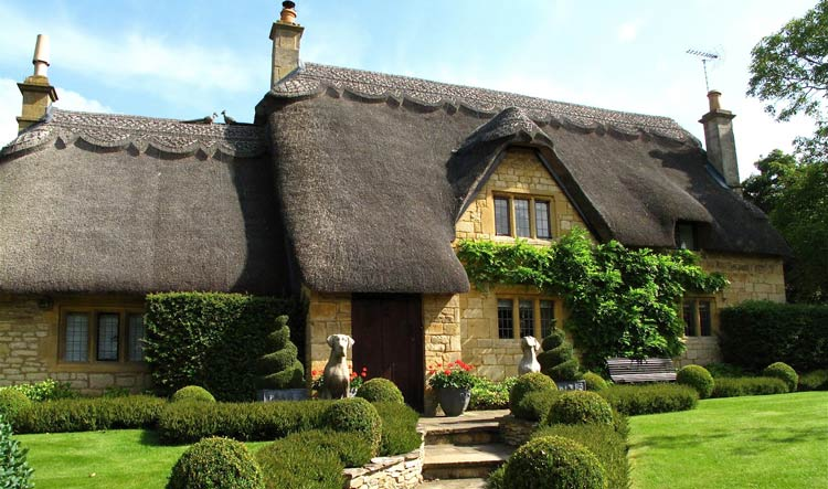 Thatched house in Chipping Campden - Cotswolds
