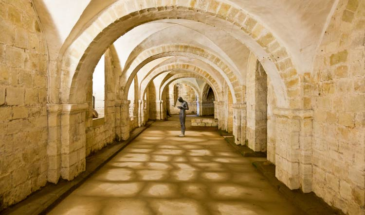 Crypt of Winchester Abbey